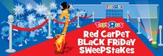 """Toys """"R"""" Us Red Carpet Black Friday Sweepstakes- MAKE SURE TO CLICK AND REGISTER FOR A CHANCE TO WIN A TRU SHOPPING SPREE!!"""