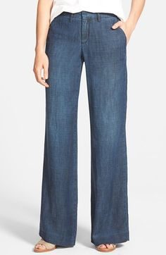 CJ+by+Cookie+Johnson+'Upright'+Stretch+Wide+Leg+Trouser+Jeans+(Melba)+available+at+#Nordstrom