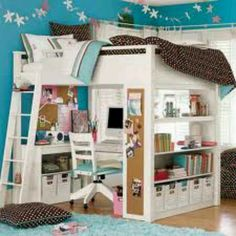 Teenage girls room