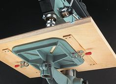 drill press table mounting