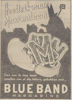 Blue band, 1949 (Sinterklaas advertentie)