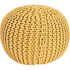 Heart of House Cotton Knitted Pod - Yellow.