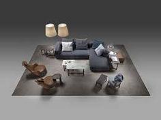 """Grandemare"" sofa by Flexform. Furniture Showroom, Furniture Layout, Sofa Furniture, Furniture Plans, Luxury Furniture, Living Room Furniture, Furniture Design, Living Rooms, Sofa Design"