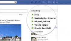 Facebook estrena 'Trending Topics' en su sitio - Cachicha.com