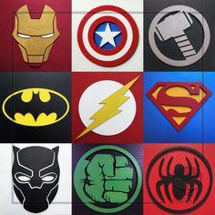 Logo Avengers, Avengers Room, Avengers Art, Avengers Birthday, Batman Logo, Superhero Logos, Boy Birthday, Birthday Parties, Marvel Paintings