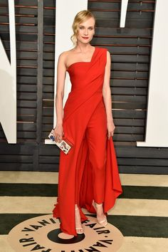 Rachel Zoe's Favorite Looks From The Vanity Fair Oscar Party | The Zoe Report Diane Kruger in Donna Karan Atelier