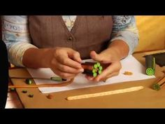 Sculpey Clay Complex Cane Tutorial - YouTube