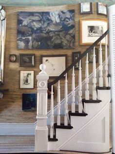 Love the mix on staircase