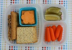 Healthy school lunch ideas. Yay for cheese flowers.