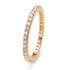 Ring Jolie gold crystal L Swarovski, Winter Collection, Stones And Crystals, Wedding Rings, Engagement Rings, Gold, Fields, Jewelry, Products