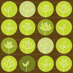 #brown #green #leaf