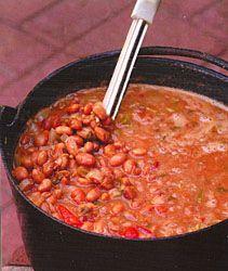 Matt Martinez's Charro Beans