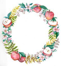 Просмотреть иллюстрацию Яблочное настроение из сообщества русскоязычных художников автора Богданова Дарья в стилях: Декоративный, нарисованная техниками: Акварель.