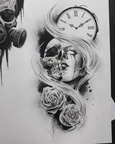 tattoo tattoo arm Tattoo Arm Sleeve Simple I Arm Tattoo, Full Arm Sleeve Tattoo, Wolf Sleeve, Tattoo Arm Frau, Tattoo Art, Wild Tattoo, Manga Tattoo, Skull Sleeve, Skull Tattoo Design