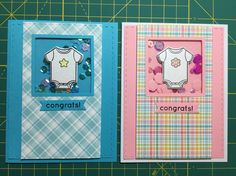 Simon Says Stamp May Card Kit baby card