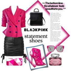 Statement Shoes - Hot Pink