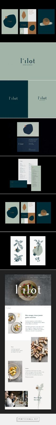 Branding board and complete brand identity for a modern and arty brand that is colorful, yet minimalist. Blue and mint green combined to a color palette that looks professional and functional with a p - My Design Ideas 2019 Corporate Design, Brand Identity Design, Graphic Design Branding, Modern Graphic Design, Logo Branding, Branding Agency, Corporate Identity, Slow Design, Web Design