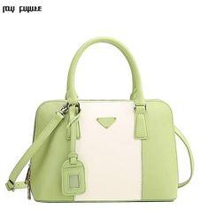 Myfuture ® Europa y EE.UU. la mujer del cuero del bolso de hombro diagonal 6075 – MXN $ 886.76