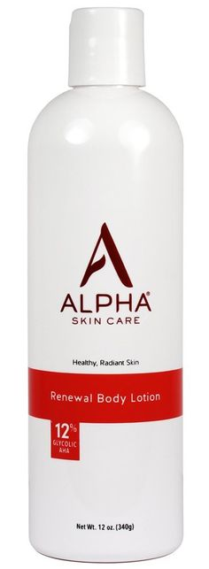 Amazon.com: Alpha Skin Care Renewal Body Lotion with 12% Glycolic AHA, 12 Ounce ( Packaging May Vary): Beauty