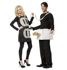 [Fun Couples Halloween Costumes] Rasta Imposta Lightweight Plug and Socket Couples Costume, Black/White, One Size -- Check out the image by visiting the link. Adult Halloween Party, Cute Halloween Costumes, Halloween Snacks, Halloween Cupcakes, Couple Halloween, Vintage Halloween, Halloween Ideas, Halloween Decorations, Happy Halloween