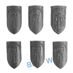 WARHAMMER BITS: STORMCAST ETERNALS LIBERATORS - SHIELDS x6 | eBay Stormcast Eternals, Miniatures, Mugs, Ebay, Tumblers, Mug, Minis, Cups