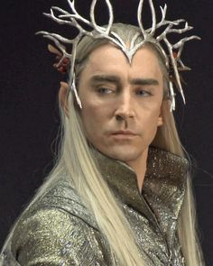 Don't mess with this elf.  #LeePace as #Thranduil in #The Hobbit.