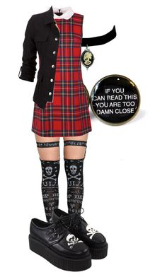 """""""Edgy"""" by carcrashheart ❤ liked on Polyvore"""