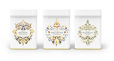 """Opal Tea Co. is a luxury loose leaf tea brand. Loose leaf tea was used to arrange the patterning on the front of the packaging to highlight the product as well as convey a sense of quality and luxury"""