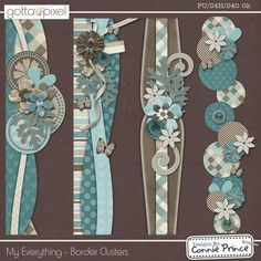 My Everything - Border Clusters :: Gotta Pixel Digital Scrapbook Store Scrapbook Borders, Scrapbook Templates, Baby Scrapbook, Scrapbook Cards, Scrapbooking Freebies, Digital Scrapbooking Layouts, Scrapbook Page Layouts, Prince, Banner