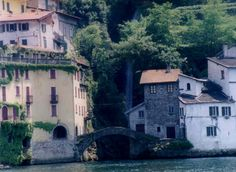 Nesso, Italy waterfront
