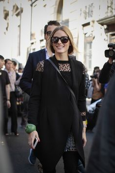 Olivia Palermo at Viktor & Rolf - Paris Fashion Week SS15 by Amandine Dowle Photography