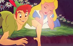 peter pan and alice - Buscar con Google