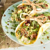 Breakfast Tacos mit Rührei und Bacon_featured