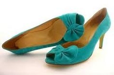Teal shoes - an idea to tie-in the theme to your outfit? Teal Wedding Shoes, Teal Shoes, Wedding Planning, Wedding Ideas, Denver, Bow, Wedges, Flats, Rustic