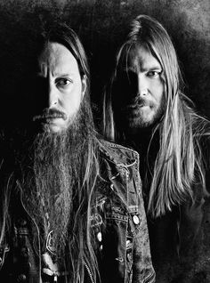 Darkthrone is a Norwegian metal band active since In 1993 the band became a duo including Gylve Nagell 'Fenriz' and Ted Skjellum 'Nocturno Culto'. Black Metal, Heavy Metal, Blade Runner, Band Photography, Portrait Photography, Extreme Metal, Metal Albums, Metal Girl, Band Photos