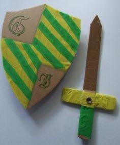 * Schild en zwaard