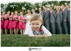 Cutest ring bearer photo ever.  {Wedding Photography} http://www.trevordayley.com
