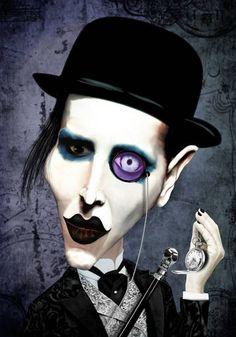 Marilyn Manson | digart | digart.pl