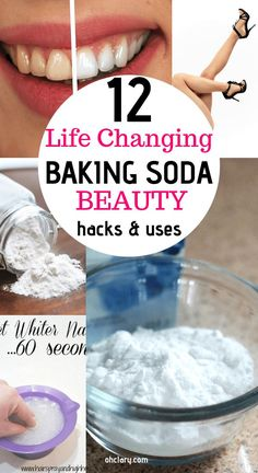 Baking Soda Shampoo: It can Make Your Hair Develop Like It can be Magic! Baking Soda Shampoo: It can Make Your Hair Develop Like It can be Magic! Baking Powder For Cleaning, Baking Soda Baking Powder, Baking Soda For Hair, Baking Soda Shampoo, Baking Soda Cleaner, Baking Soda Beauty Uses, Baking Soda Uses, Tips And Tricks, Makeup Tricks
