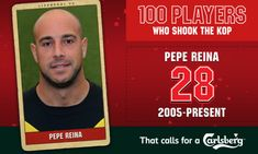100PWSTK: 28. Pepe Reina - Liverpool FC