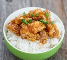 Honey Sriracha Chicken   Kirbie's Cravings   A San Diego food blog