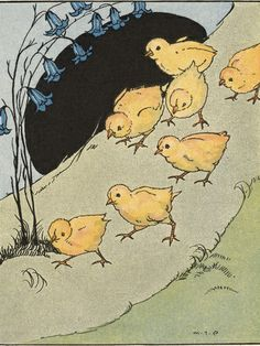 All the Little Chicks Came Running tattoo idea
