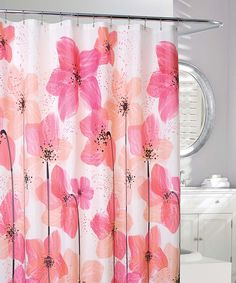 Take a look at this Coral & Peach Georgia Shower Curtain today!