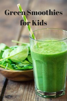 Do your kids drink green juices and smoothies? Check out these green smoothie recipes for kids