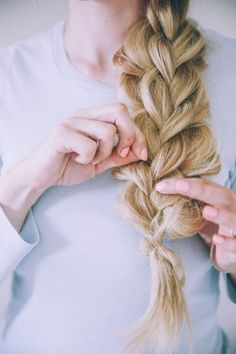 Get this double chunky braid from Barefoot Blonde on LaurenConrad.com