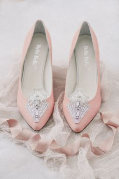 Love for vintage! If you've chosen vintage décor for your wedding or just want to look stylish, choose a pair of vintage shoes for your wedding. Lace, flower pattern, amazing decorations and shapes – you'll look so fe...