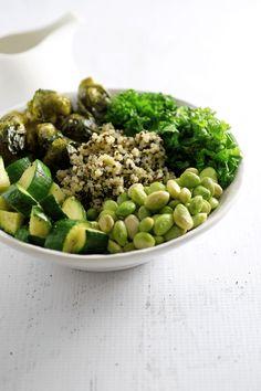 Green Goddess BowlsVegan Recipes