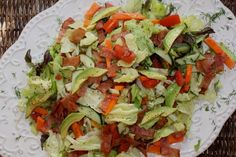 Delicious low BLT FODMAP salad, perfect for your next summer meal!