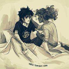 Nico and Hazel T.T :'(