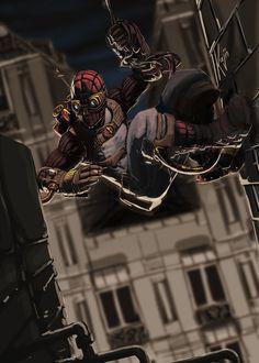 Steampunk Spider-Man Fan Art. pic.twitter.com/IwtzUECmbl